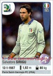 N° 115 - Salvatore SIRIGU (2011-??, PSG > 2013, Italie)
