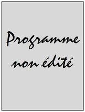 Programme  Bastia-PSG  2015-16