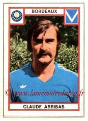 N° 046 - Claude ARRIBAS (1971-72, PSG > 1975-76, Bordeaux)