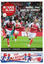 Programme  Reims-PSG  2015-16