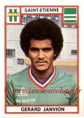 N° 264 - Gérard JANVION (1975-76, Saint-Etienne > 1983-85, PSG)