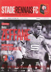 Programme  Rennes-PSG  2015-16