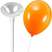 Ballonstäbe, Stäbe, Luftballon, Ballon