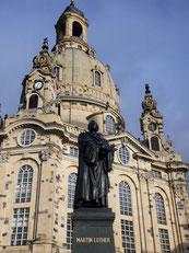Frauenkirche & Lutherdenkmal