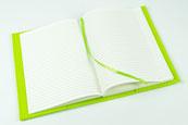 biasto-laserdesign.de Filz-A5 Notizbuch grün 90 Seiten Abmessungen geschlossen: ca. 15,5x21,5x2 cm