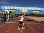 スタート前の決めポーズ!岡の里名水マラソン2015 →