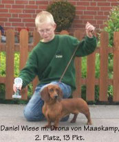 Daniel beim Junior-Handling