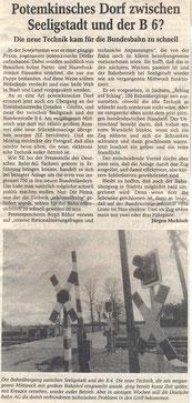 Bild: Seeligstadt Chronik 1995