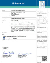 IFT rapport isolatiewaarde RenoS9000