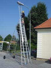 Type 62 maintenance ladders