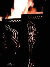 Kaja Möbius, Feuertonne aus der Reihe  Feuerzeichen