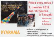 Veranstaltung: 1. Jahr DYARAMA Schule und Neujahrsfeier