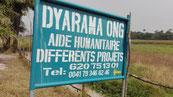 DYARAMA ONG info-Tafel