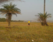 Wasser holende Frau in Tayaky