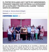 """Diario """"El Grifo Información"""". Carmona . Junio 2017"""