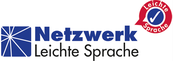 Hier ist das Logo vom Netzwerk Leichte Sprache.