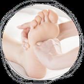 Fuß, Füsse, Fußnerven, Fußreflex, Fußreflexzonen, Vitaflex, ätherische Öle, Reflexzonen, Meridiane, Verbindung, Fußsohle, Stimulation, Reflexzonen, Reflexpunkte, Wirkstoffe, therapeutische Öle, Selbstheilungskraft, Selbstheilungskräfte, Drucktechnik