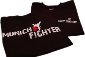 Munich-Pro-Fighter T-Shirts - Schwarz