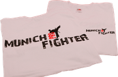 Munich-Pro-Fighter T-Shirts - weiß