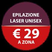 Epilvip epilazione laser, prezzo fisso a 29€ a zona