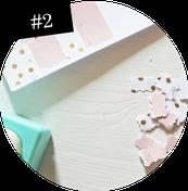 Bild: Notfall Konfetti als Geschenkidee einfach selber machen, DIY Anleitung für Konfetti, Schritt 2: Konfetti stanzen, gefunden auf Partytories.de