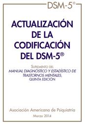 Actualización de la codificación del DSM-5 (pdf).
