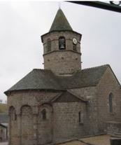 Église romane de Nasbinals XIème siècle