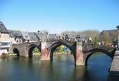 Le pont gothique d'Espalion sur le lot
