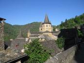 La vieille cité de Conques et l'Abbatiale Sainte-Foy