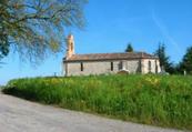 Église Saint-Martin peu après Durfort