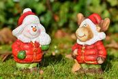 Weihnachtsmänner (Pixabay)