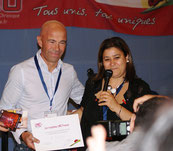 Claude Gillet Mina Daban Trophée LMC France leucemie myeloide chronique course trail recherche progres medecine guerison glivec tasigna iclusig  bosulif sprycel greffe moelle osseuse