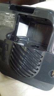 布団乾燥機に波動を作用