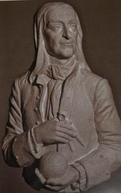 Магницкий Л.Ф., барельеф, скульптор Илья Вьюев / Leonty Magnitsky, bas-relief, sculptor Ilya Vyuev