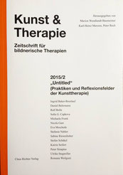 """S. 38 ff.: """"Rekonstruktionen des Verlorenen - Zur Anwendung des Übertragungskonzepts von Betty Joseph in der kunsttherapeutischen Arbeit mit alten Menschen"""", R. Weilguni (2015)"""