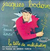 Pochette de disque de Jacques Bodoin