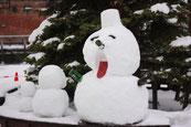 画像;雪だるま