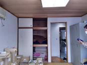 改装前の和室です