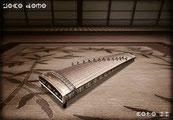 Le KOTO, encore un instrument à cordes.