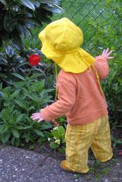 Bild: Mädchen mit Blume