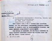 Anfrage Einstampfung, 9.12.1935.  Foto: StA Göttingen