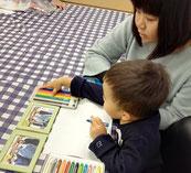 大分市大在・下郡・コンパルホールにある英語教室・英会話スクール、いもと英会話スクールの親子クラス。アクティブラーニングで子供の主体性と問題解決能力を伸ばす