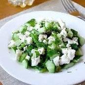Сельдерей фетаки салат