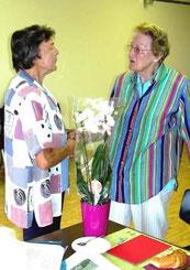 Margrit Schmid und Käthi Michel