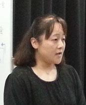 摂食嚥下障害の娘を育てる苦労を語る迫田理恵子さん