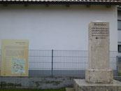Römerstein in der Nähe von Pfünz  Ingolstadt