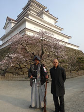 福島を訪れた世界的な靴職人、ジミー・チュウ氏