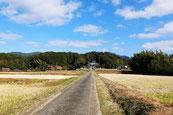 田耕神社遠景