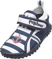 Playshoes Aquaschuhe, Badeschuhe Maritim mit UV-Schutz 174781 Junge