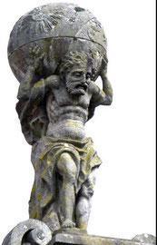 Altas trägt den Himmel auf seinen Schultern (Quelle: Wikipedia)